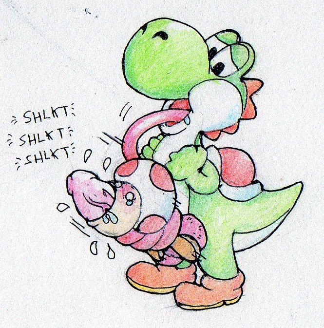 mario rpg super fat yoshi The evil within