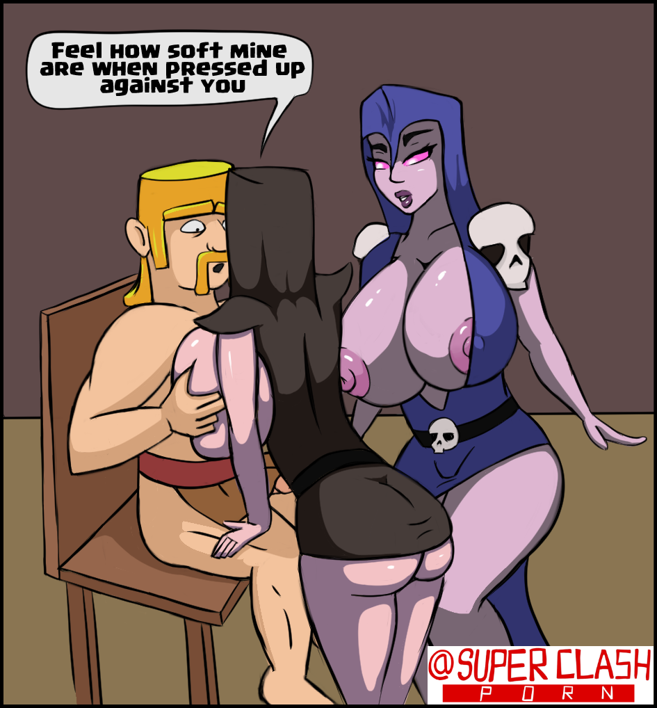 of archers nude clash clans In another world with my smartphone nude
