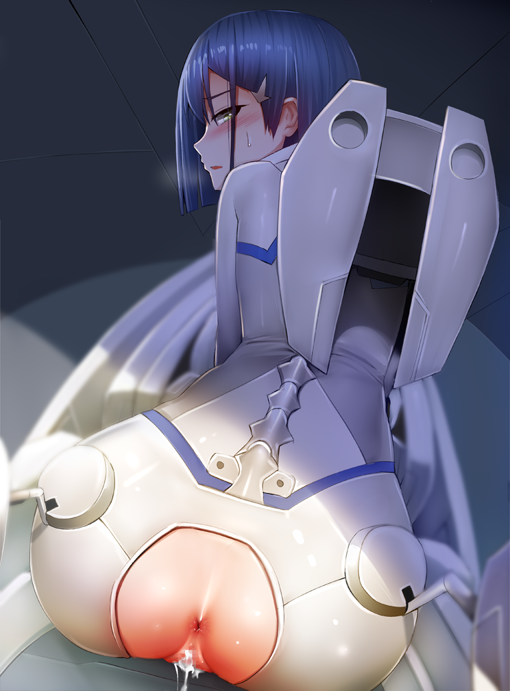 in the franxx uncensored darling Bee and puppycat