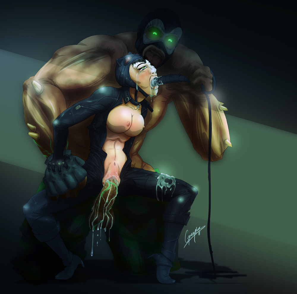batman how arkham get city catwoman to in All dogs go to heaven red