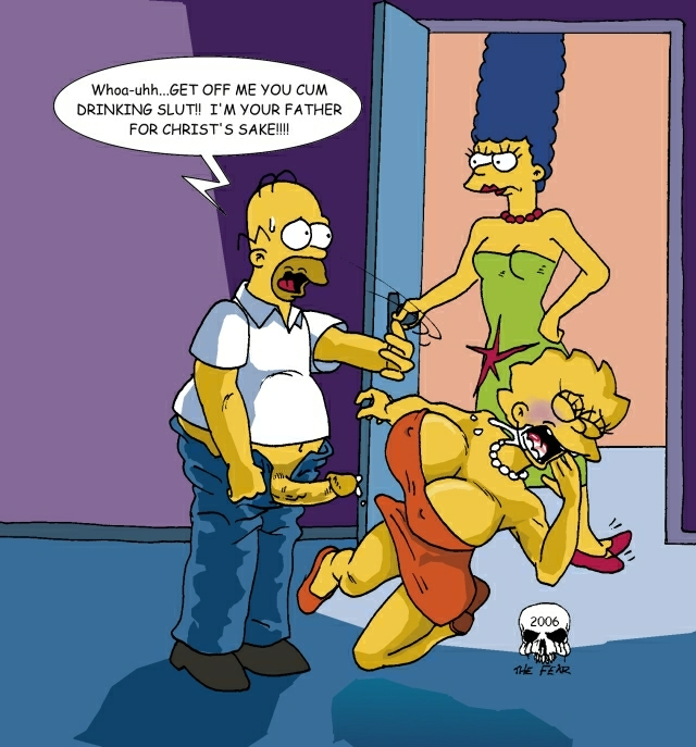 griffin car peter homer simpson wash Spooky house of jump scares
