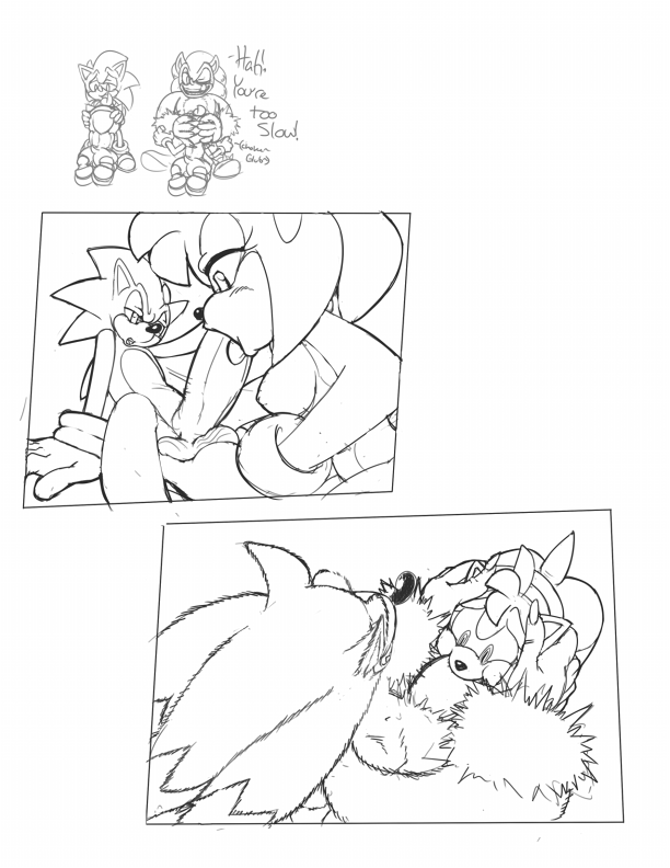 sonic amy and the werehog Tour guide from the underworld hentai