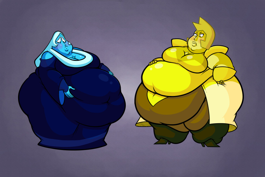 and diamond steven blue universe yellow That time i got reincarnated as a slime gelbooru
