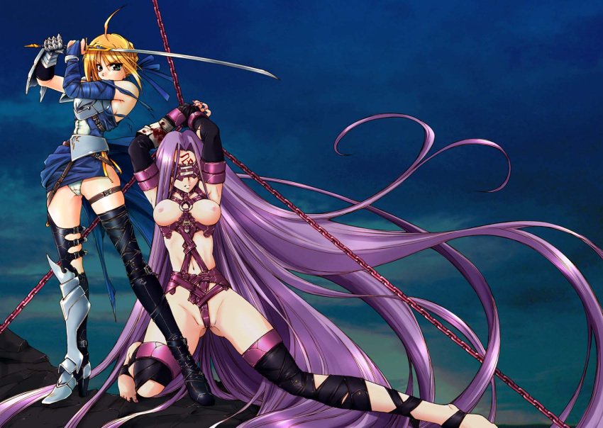 fate saber night. from stay Legend of queen opala laquadia