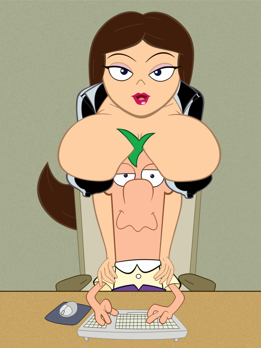 vanessa nude and phineas ferb Blow job cum on tits