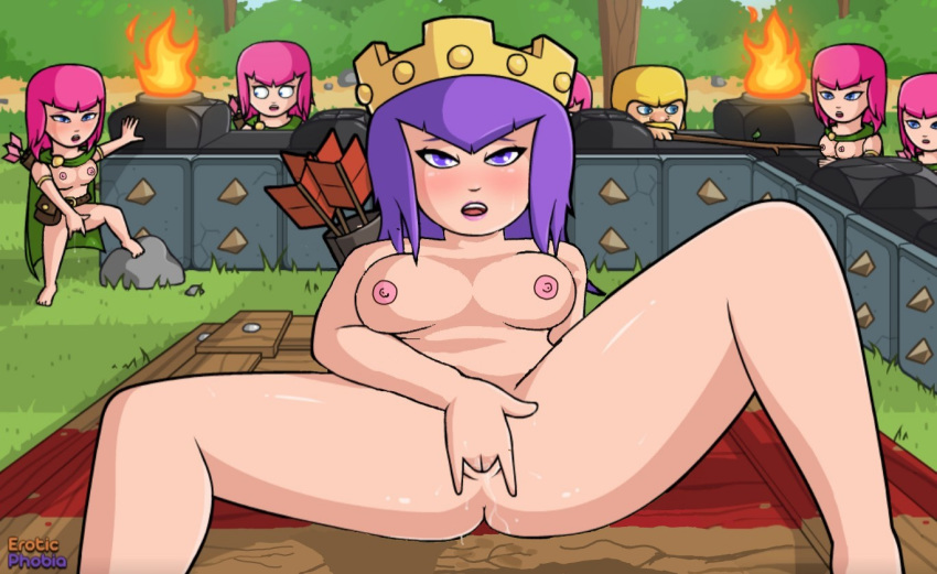 hentai clash witch of clans My little pony flesh light