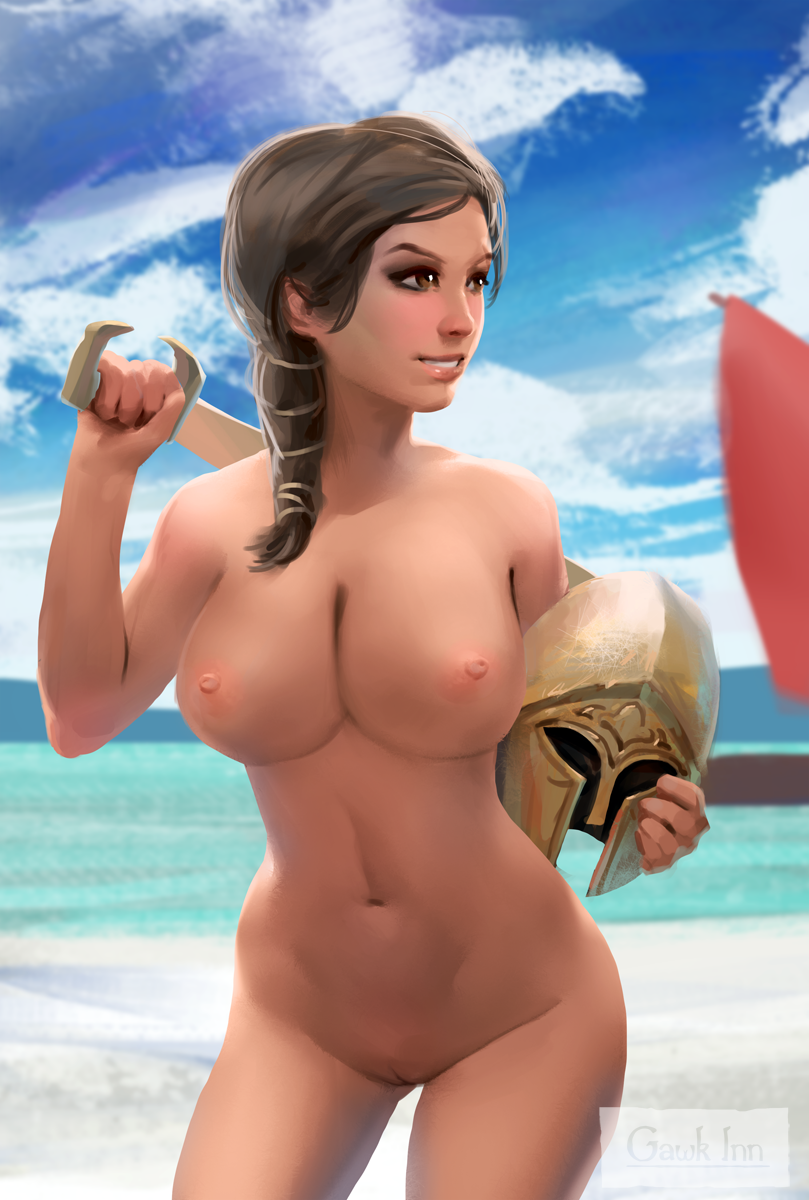 naked assassin's kassandra creed odyssey Trawinsky and the mysterious house